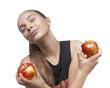 girl with apples - dziewczyna z jabłkami