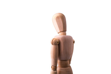 Wooden Model of the person
