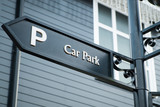 Car Park, Parking sign..