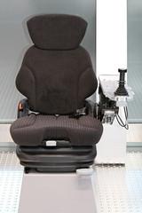 Seat with joystick
