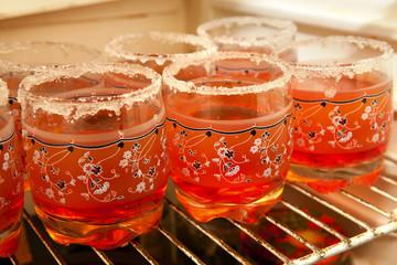 cups in fridger