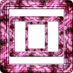 Marble picture frame generated isolated texture