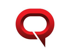 Quick Talk Logo Template