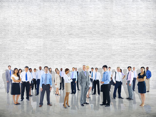 Crowd Business People Colleague Community Togetherness Concept