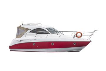 boat isolated on white background