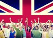 roleta: Diversity of British Community People Hapiness Concept
