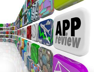 App Review Software Program Evaluation Process Rating Score