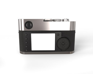 Compact camera - back view