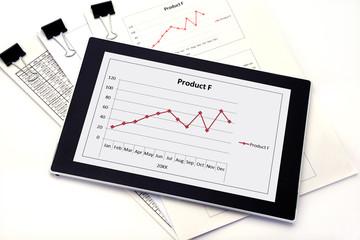 ビジネスイメージ―資料のデータ化