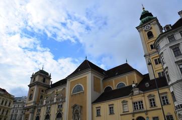 Place Freyung et église écossaise, Vienne
