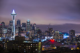 Seattle at Night - Fine Art prints