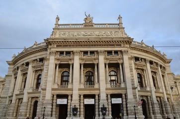 Le burgtheater de Vienne , théâtre