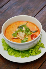 Tom Yum Soup – Thai food