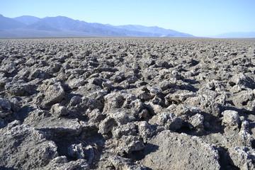 Devil's golf court in Death Valley