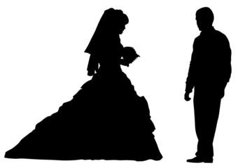 Bride of wedding