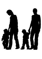 Women and kids