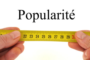 Mesure de la popularité
