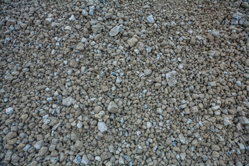 texture of messy gravel