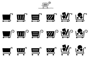 ショッピングカート アイコン