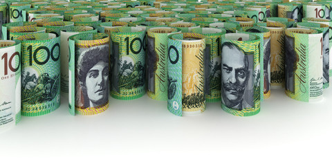 100 Australian Dollar Background