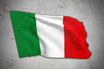 old Italy flag