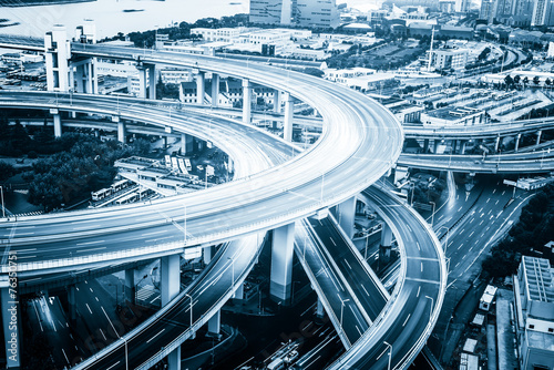 shanghai-erhohte-strase-junction-und-austausch-uberfuhrung-bei-fast