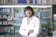 male pharmacist .