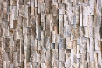 Background of a wall made of granite cut and paste it forward.