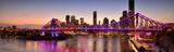The Story Bridge in Brisbane, QLD - Australia.