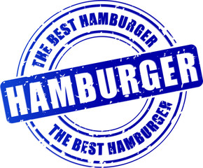 hamburger stamp icon