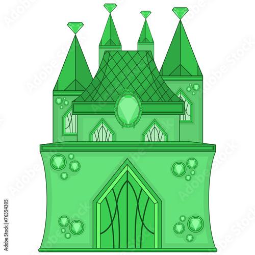 Zdjęcia na płótnie, fototapety, obrazy : Emerald Castle