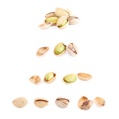 Multiple pistachio compositions isolated