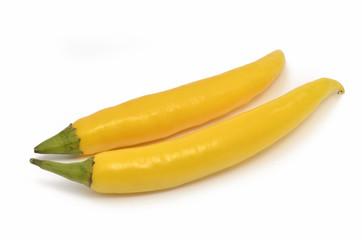 Gelbe Pepperoni