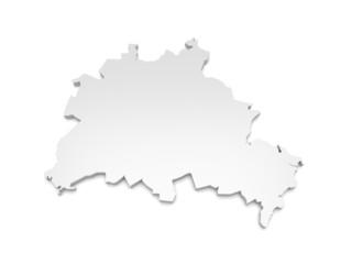 3D Karte Berlin