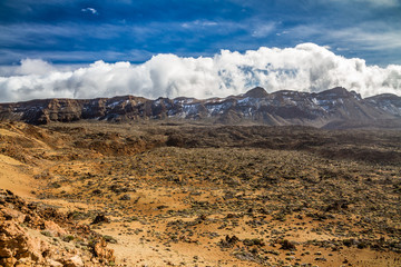 Teide Nat.Park with Lava Formations-Tenerife,Spain
