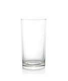 Empty glass isolate on white - 76358501