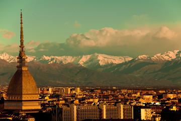 Torino (Turin) at sunrise