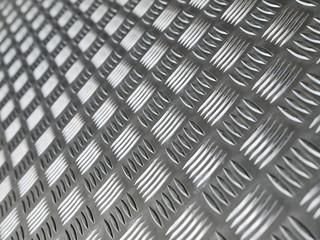 Metallplatte mit Riffelprofil