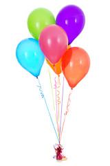 Balloons: Half Dozen Pretty Latex Balloons