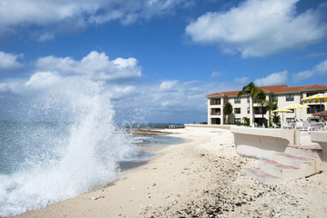 Waves in Grand Cayman