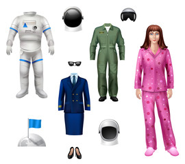 Astronaut Girl Pack