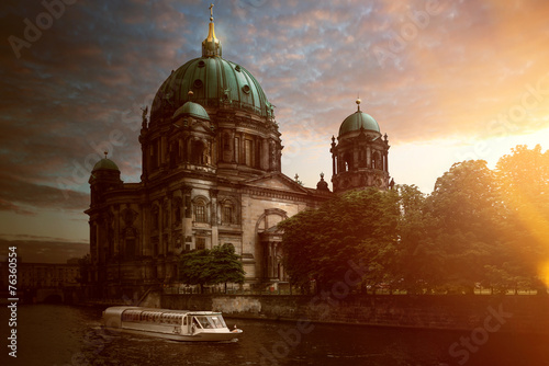canvas print picture Berlin | Dom