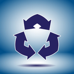 double arrow sign vector icon