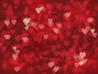 HEARTS Background (lights texture valentine's day) - 76361102