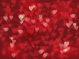 HEARTS Background (lights texture valentine's day)