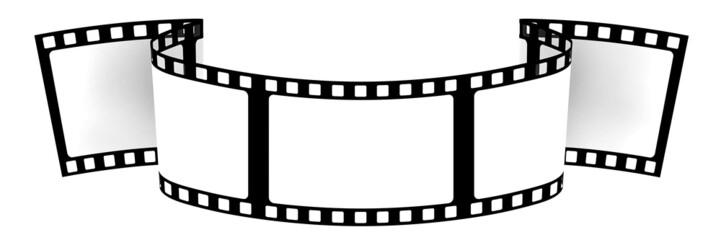 3d: Blank Film Banner