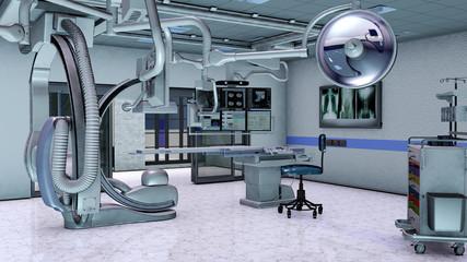 Futuristischer Operationssaal