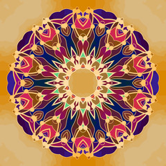 Abstract Mandala Background