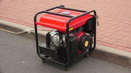 Gasoline generator. 4K.
