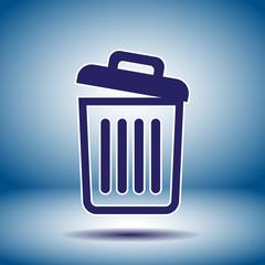 recycle bin icon empty